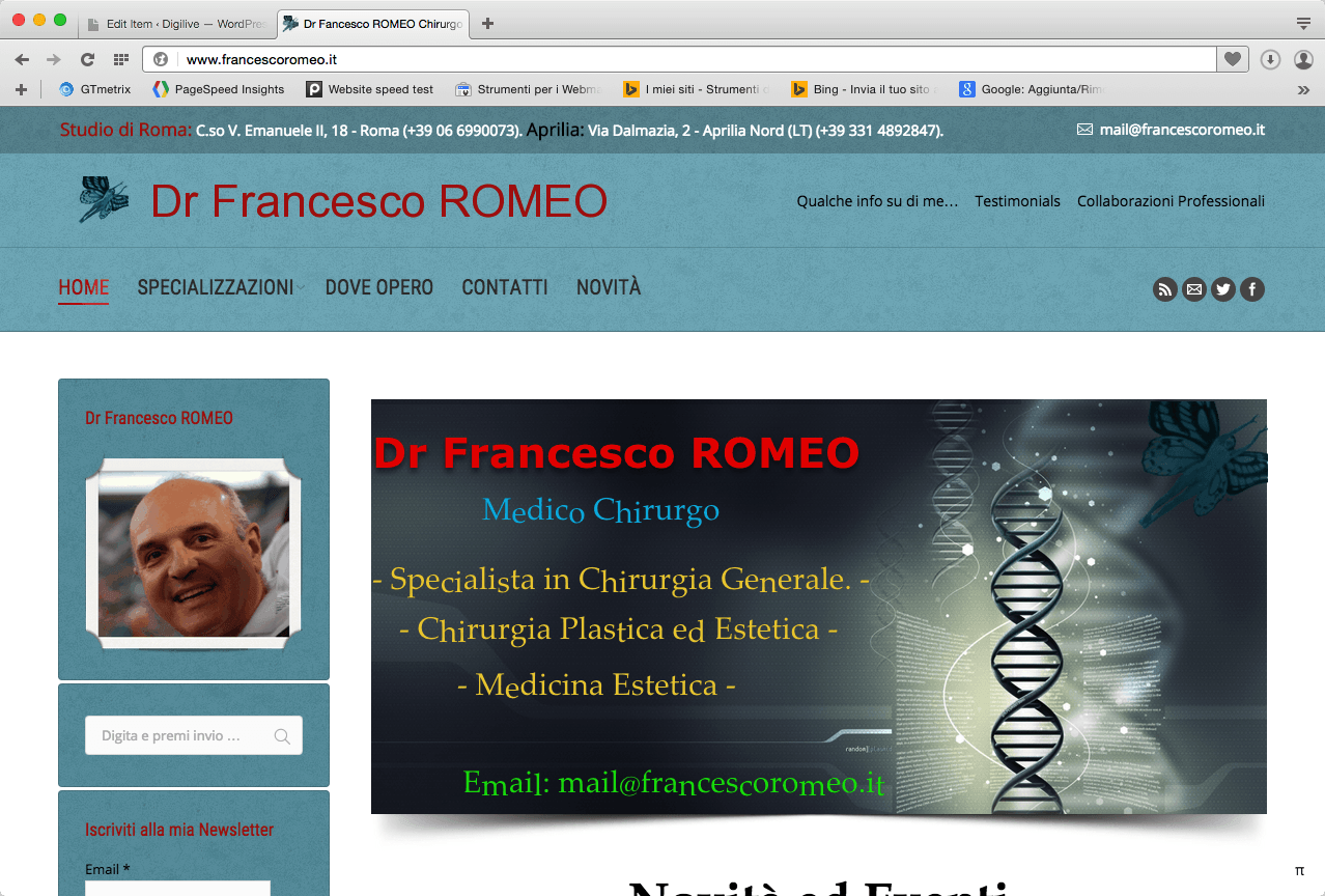 Dr Francesco ROMEO