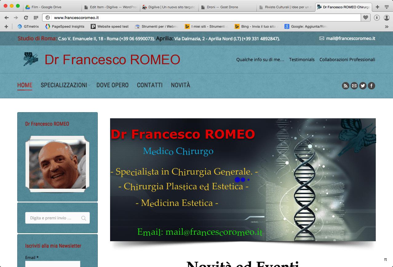 francesco romeo chirurgo plastico