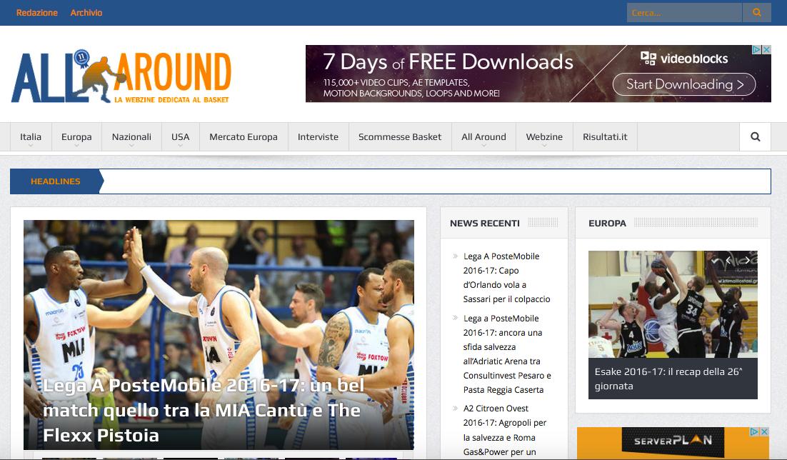 Webize del basket