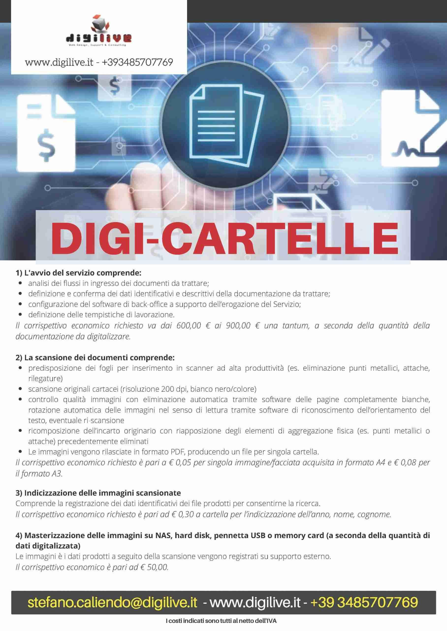 Dematerializzazione cartelle studi medici
